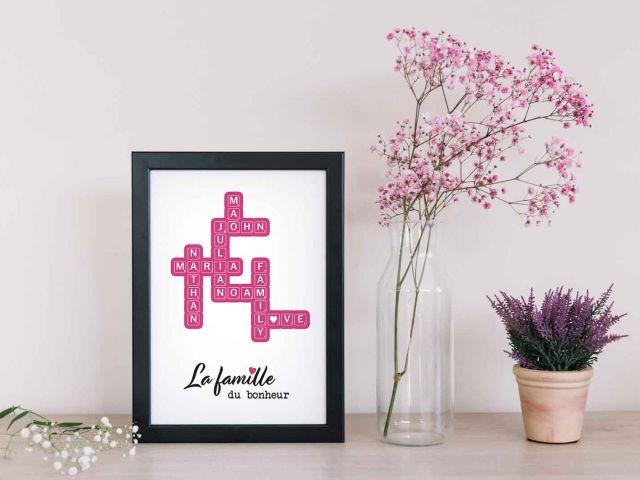 Image 1 - Scrabble Famille en couleurs