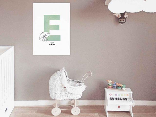 Image 5 - Initiale décorative Prénom Enfant