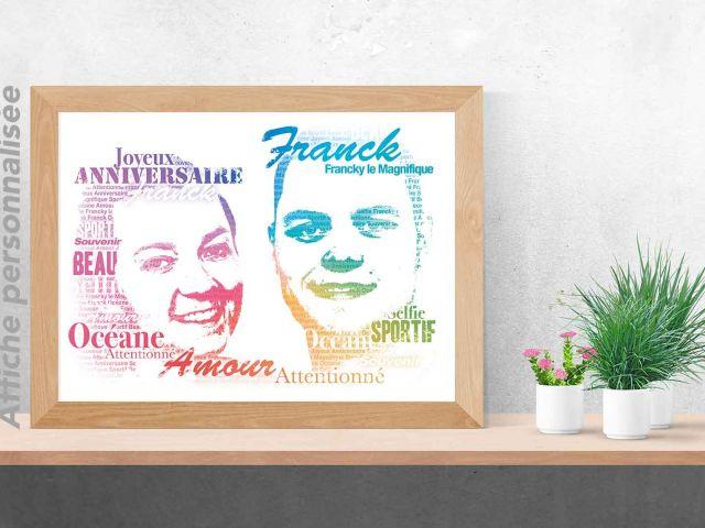 Image 1 - Portrait typographique de couple