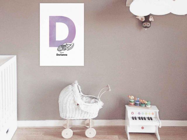 Image 4 - Initiale décorative Prénom Enfant